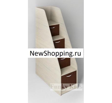 Кровать-чердак Фанки Лофт-3 металлическая