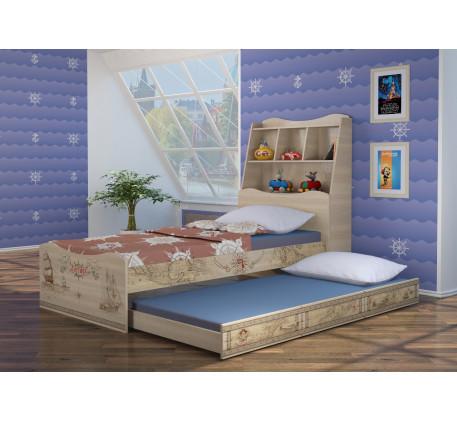 Детская мебель Квест. Комната №5 с кроватью 190х90 см с ящиком или спальным местом