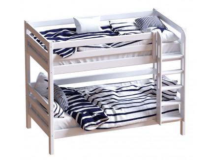 Двухъярусная кровать Авалон из массива сосны