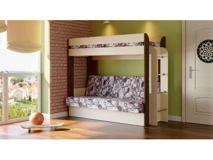 Двухъярусная кровать-диван Немо