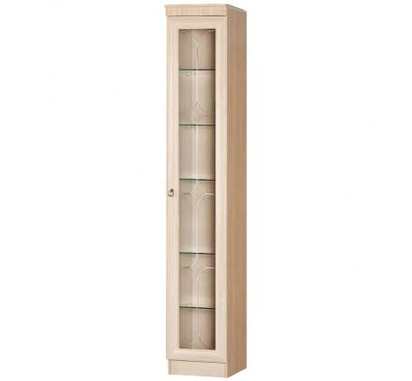 Шкаф для посуды Инна 602, 5 стеклянных полок