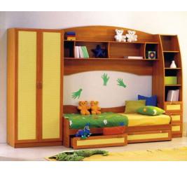 Детская мебель кровать Радуга (фабрика «Кентавр 2000»)