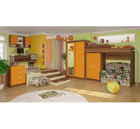Детская мебель Акварель. Комната №2.