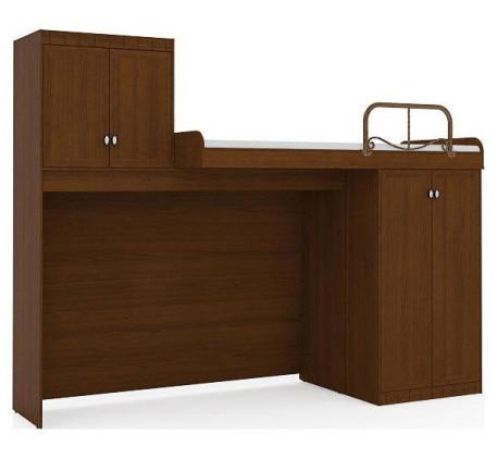 Двухъярусная кровать Итальянский мотив со шкафом 51.105, спальное место 200х90 см
