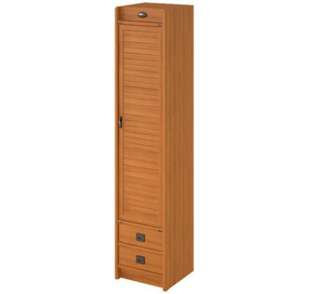 Шкаф 1 дверный с 2 ящиками Флинт F 2251 D