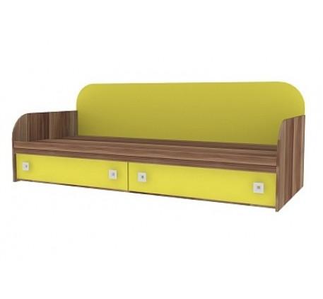 Кровать с ящиками Акварель 04, спальное место 2000*800 мм.