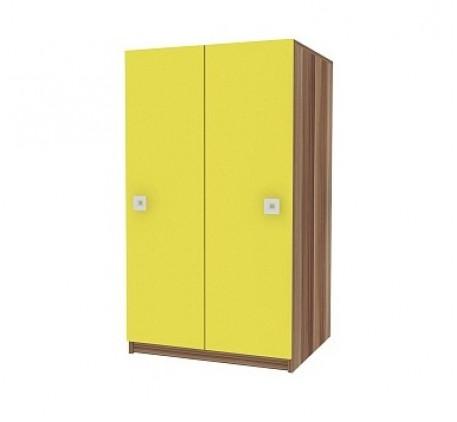 Шкаф для одежды и белья Акварель 10 с штангой и полками