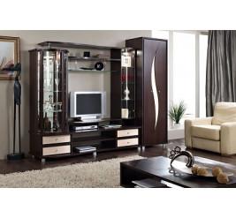 Стенка SD-1, гостиная мебель SD-9/СД-9 (официальный сайт «Уфамебель»: каталог, цены)