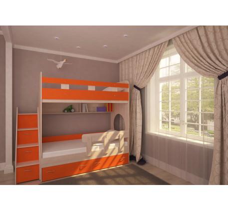 Двухъярусная кровать Юниор-1