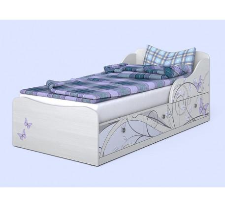 Кровать для девочки Леди-3, спальное место 190х90 см
