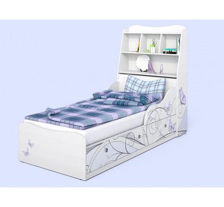 Детская кровать Леди-3 с изголовьем, спальное место 190х90 см