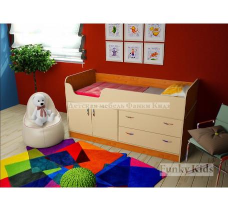 Мини кровать-чердак Фанки Кидз-9, спальное место 160х70 см