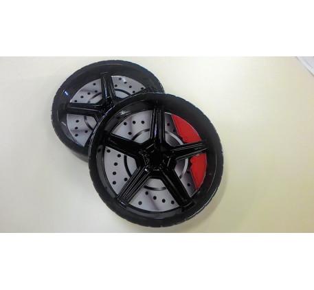 Объёмные пластиковые колёса (2 шт.)