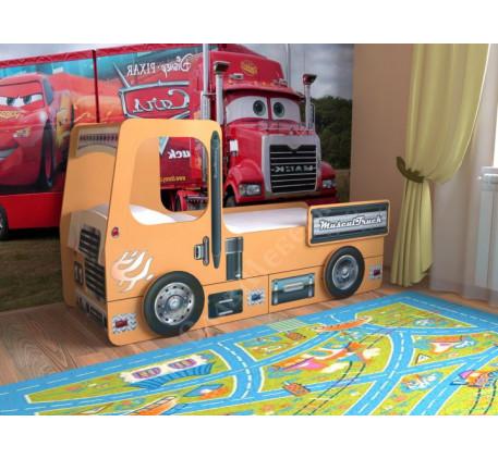 Детская кровать Грузовик, спальное место 160х70 см