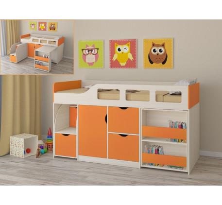 Детская кровать с бортиками и ящиками Астра-8, спальное место 190х80 см