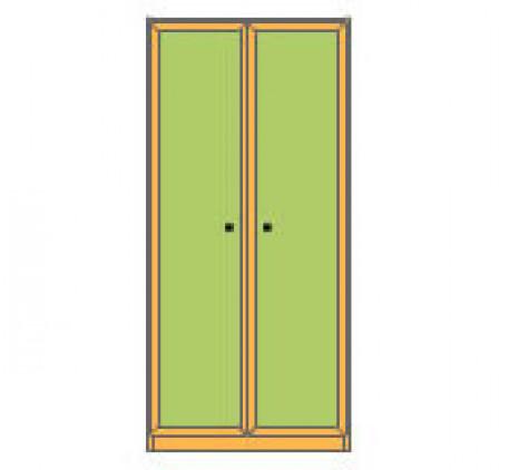 Шкаф 2-дверный для одежды (внутри 2 ящика)