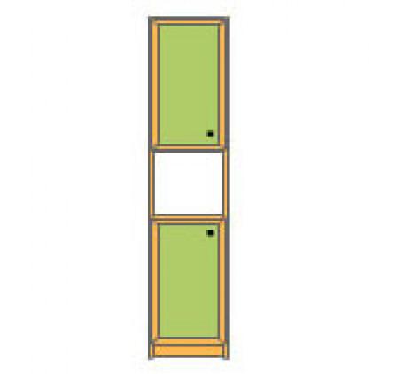 Секция 2-дверная с нишей
