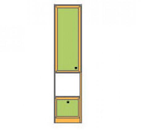 Секция 1-дверная с 1 ящиком