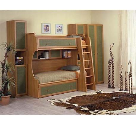 Кровать 2-ярусная правая (спальное место 1900*900)