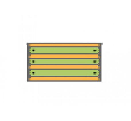 Комод с 3 ящиками
