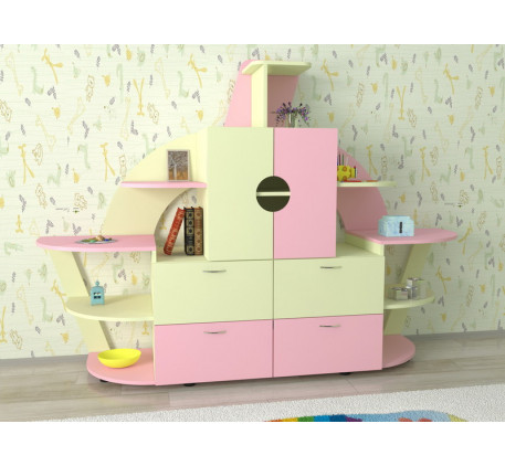 Стенка в детскую комнату Ассоль