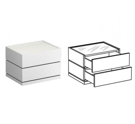 Комод с 2 ящиками