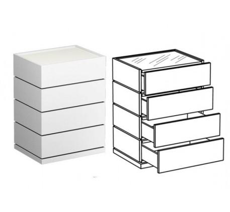 Комод с 4 ящиками