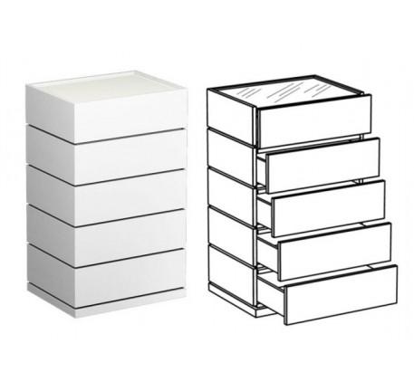 Комод с 5 ящиками
