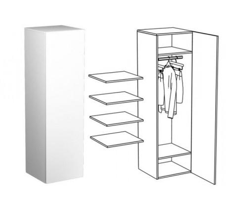 Пенал для одежды (без зеркала)