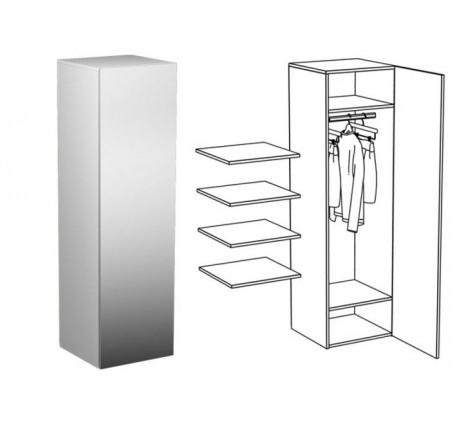 Пенал для одежды (с зеркалом)