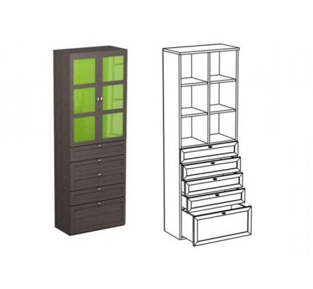 Шкаф двойной НД1+фасад НФ10Ц