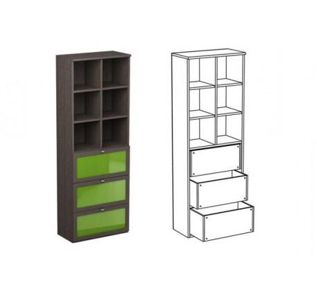 Шкаф двойной НД2 + фасад НФ11ц