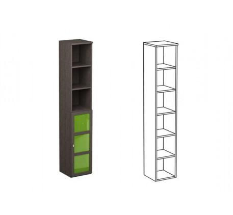 Шкаф одинарный НО1 + фасад НФ15Ц
