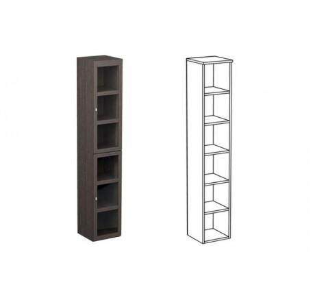 Шкаф одинарный НО1 + фасад НФ10П