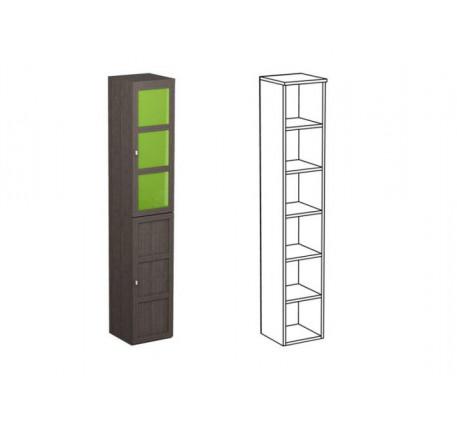 Шкаф одинарный НО1 + фасад НФ15Ц + НФ15Д