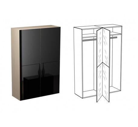 Шкаф для одежды КМ-3 (Венге, Дуб, Тик)