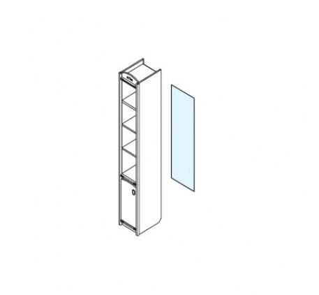 Дверь стеклянная для стеллажа 337.19 (левая/правая)
