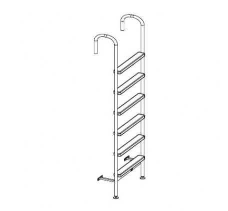 Лестница боковая к кровати 337.153