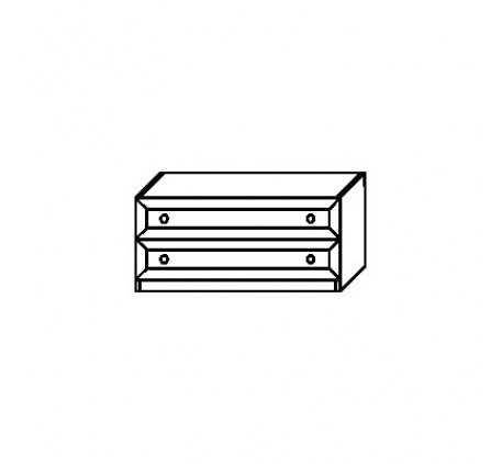 Тумба 2923 с 2 ящиками (нижняя)