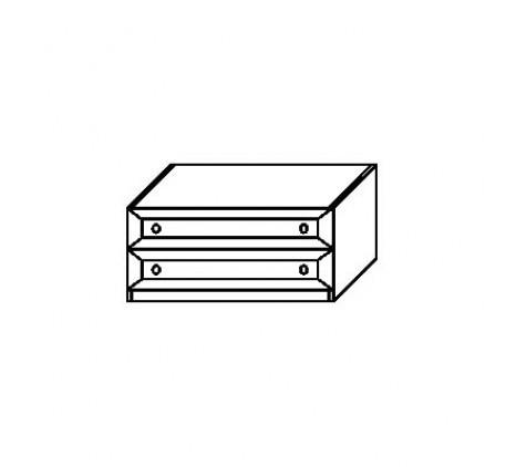 Тумба 2903 с 2 ящиками (нижняя)