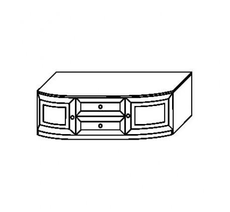 Тумба 2930 с 2 ящиками и 2 дверьми (нижняя), с крышкой