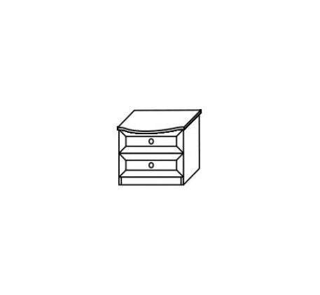 Тумба 2555 прикроватная (2 ящика)