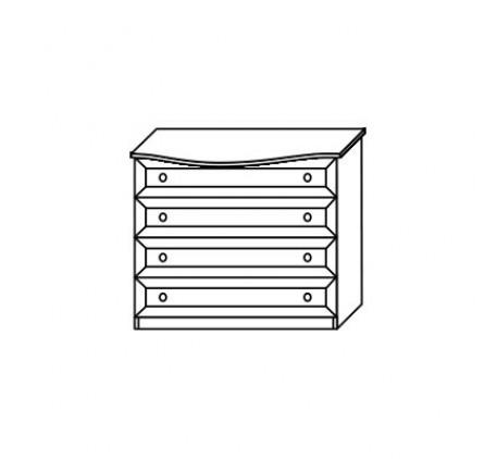 Комод 2552 (4 ящика)
