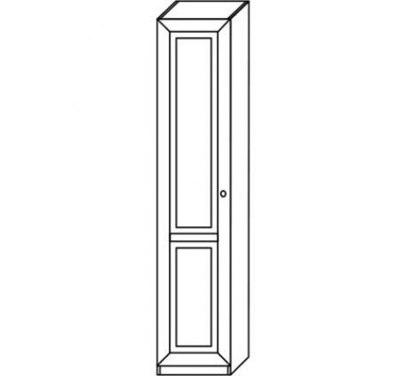Шкаф 2911 для белья (1 дверь), левый или правый