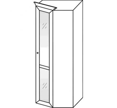 Шкаф 2661 угловой (с зеркалом)