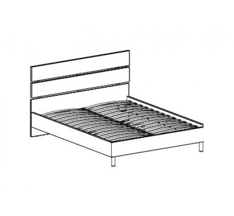 Кровать с основанием 1600 (без матраса)