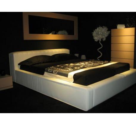 Кровать Vatta-2 с подъёмным основанием, спальное место 1600*2000 мм. (несъёмный чехол)