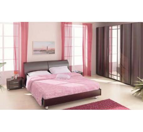 Спальня Дольче Нотте. Композиция №6. Состав спальни: ТБ-107, КР-104, ТБ-107, ШК-101