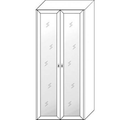 Шкаф 2 дверный с зеркалом 2860