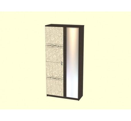 Шкаф 1000 Адель с зеркалом